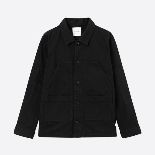 Wood Wood Fabian Shirt in Black