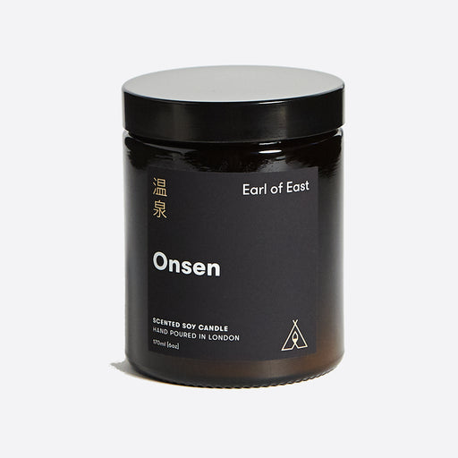 Earl of East Soy Wax Candle - Onsen - Medium