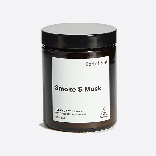Earl of East Soy Wax Candle - Smoke & Musk - Medium
