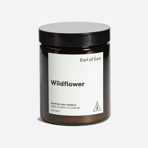 Earl of East Soy Wax Candle - Wildflower - Medium