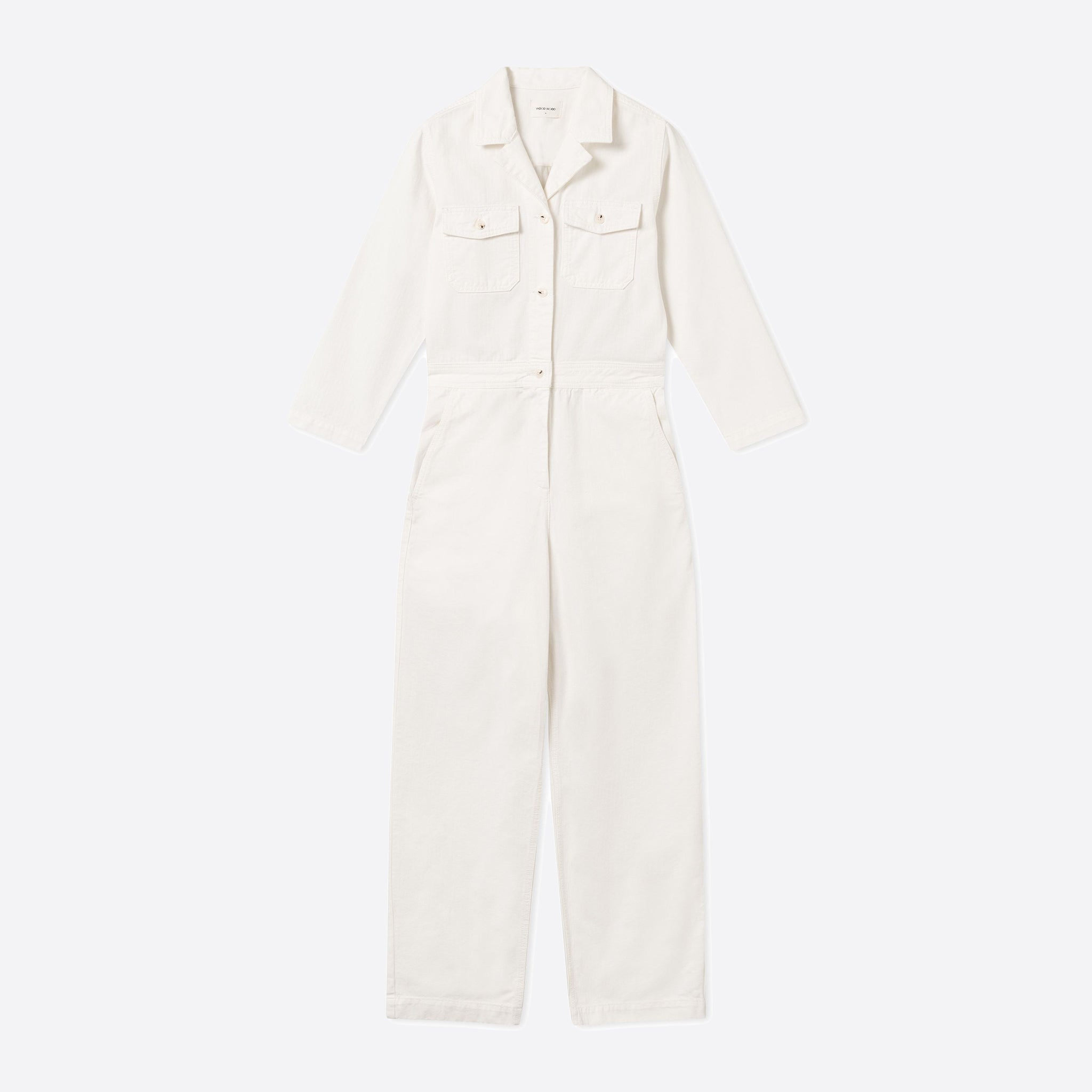 Wood Wood Irene Boilersuit in Off-White
