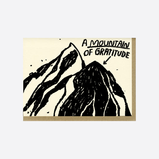 People I've Loved 'A Mountain of Gratitude' Card