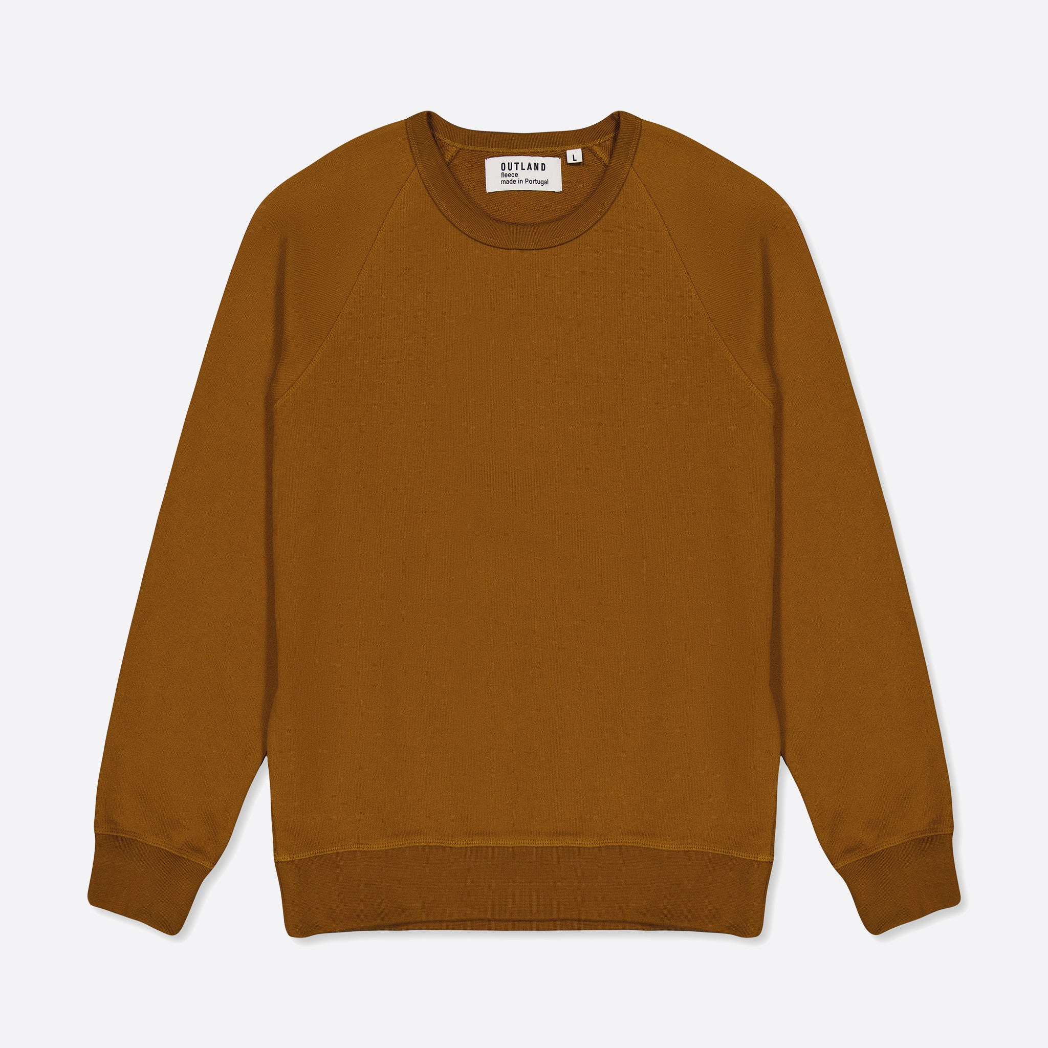 OUTLAND Basic Sweater in Tobacco