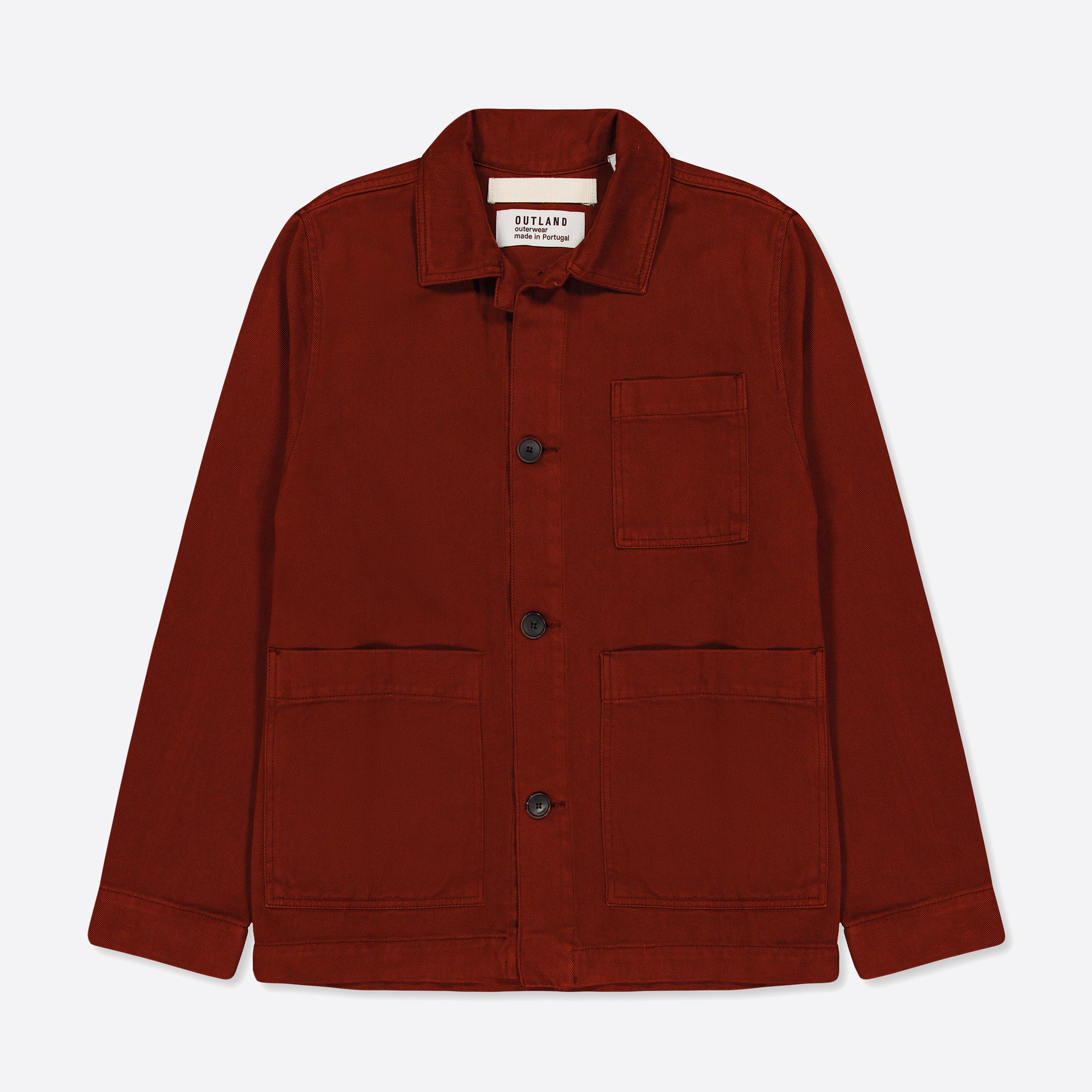 OUTLAND Dubliner Twill Jacket in Rust