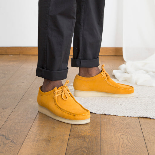 Clarks Originals Wallabee in Turmeric
