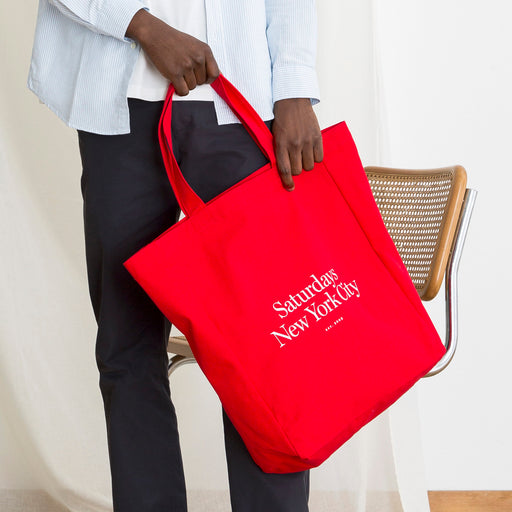 Saturdays NYC Miller Tote in Red
