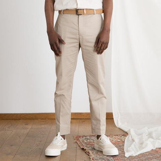 Wood Wood Tristan Trouser in Light Khaki