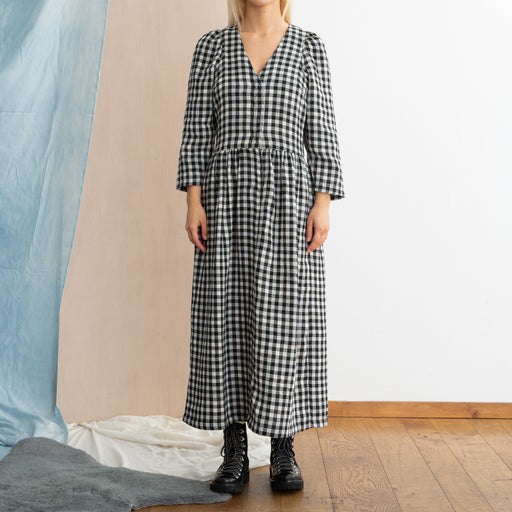 LF Markey Melvin Dress in Black Check