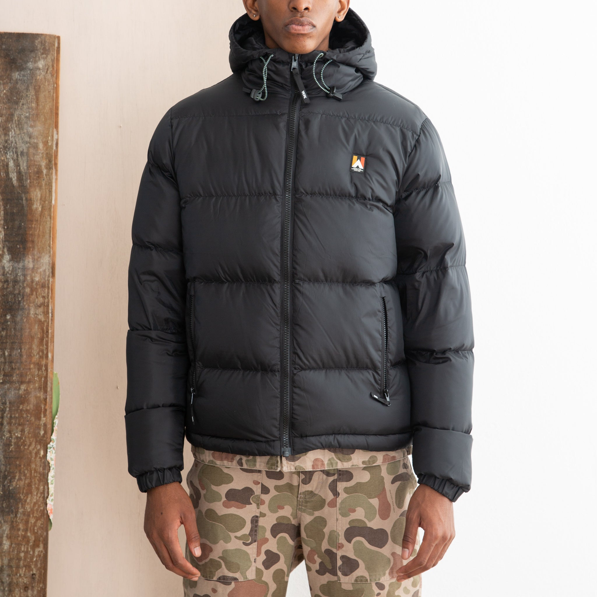 Wood Wood Helmut Jacket in Black