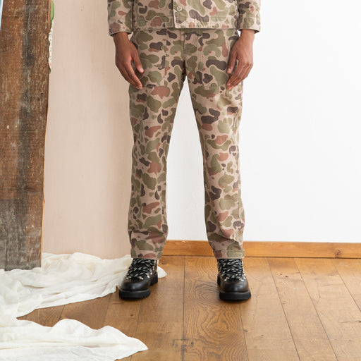 Wood Wood Halvard Trousers in Taupe Camo