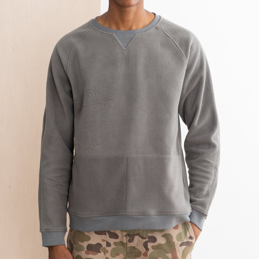 Kestin Hare Haymarket Fleece Sweat in Heather Grey