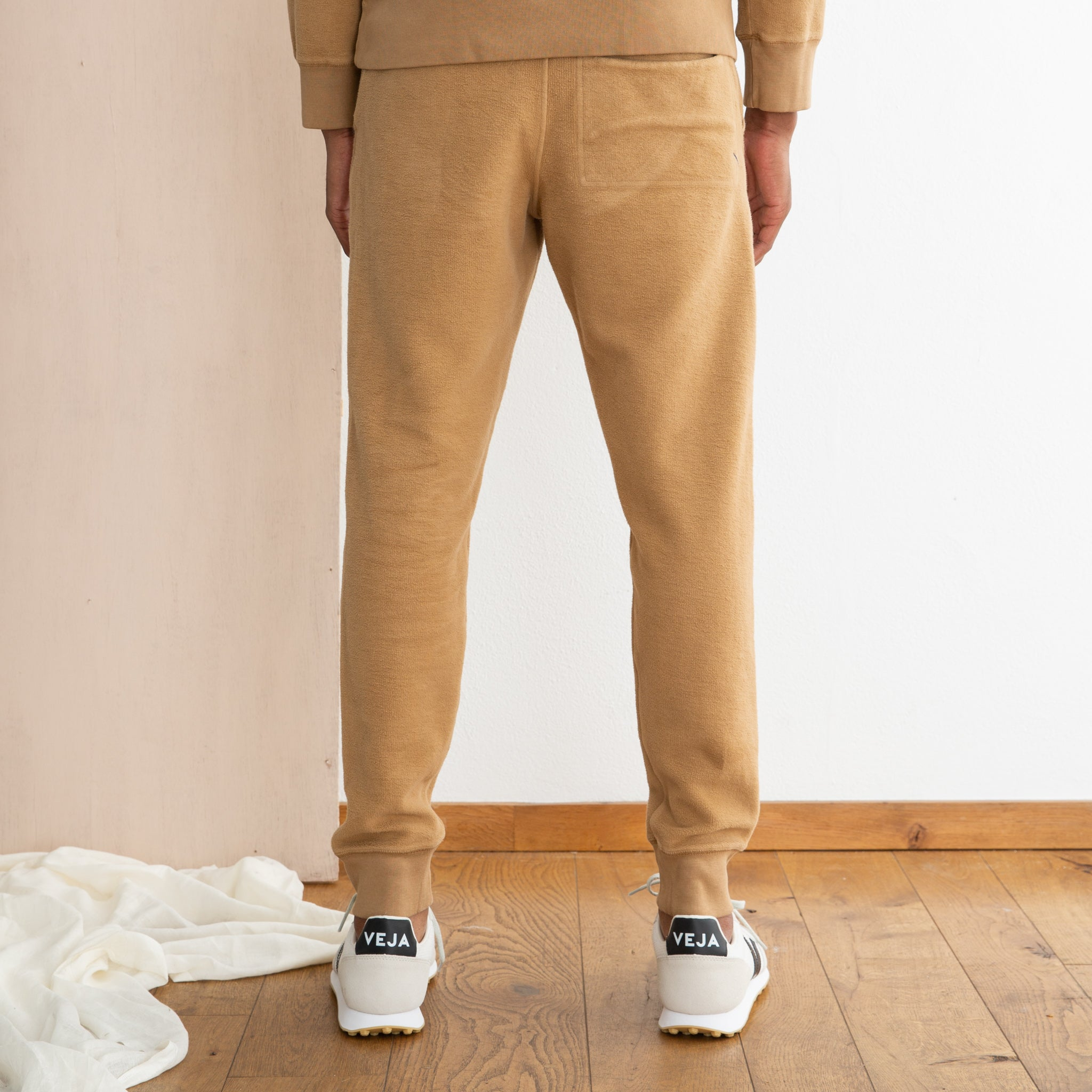 Saturdays NYC Ken Reverse Sweat Pant in British Khaki