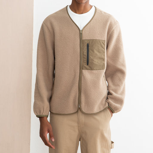 Satta Mika Fleece in Stone