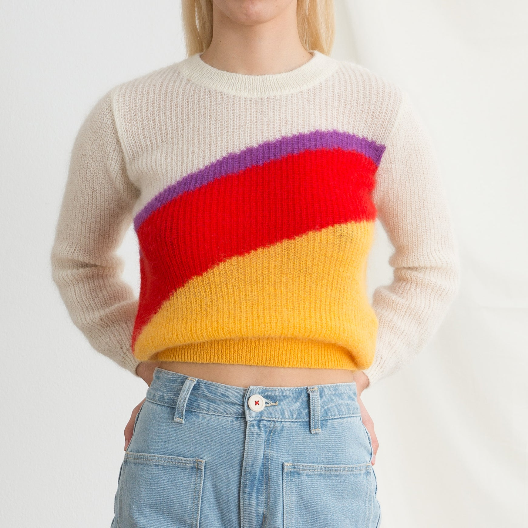 M.I.H Jeans Zenneth Sweater in Rainbow