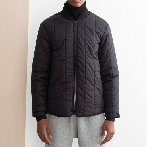 Saturdays NYC Jones Puffer Jacket in Black
