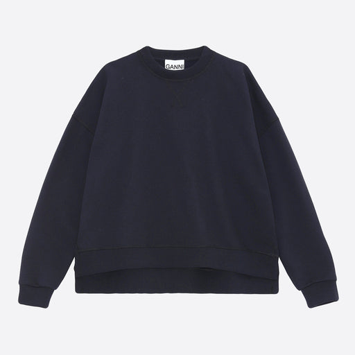 Ganni Isoli Oversized Sweatshirt in Sky Captain