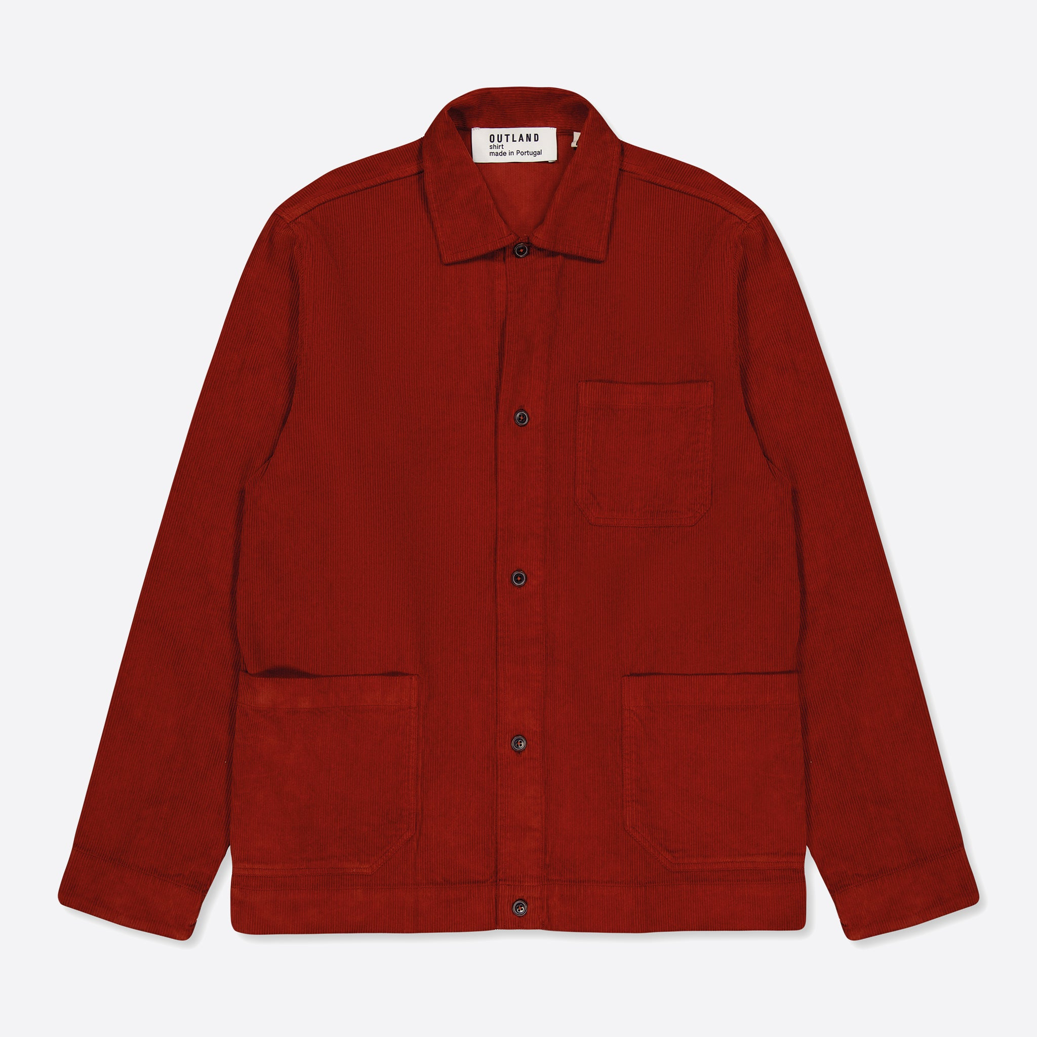 OUTLAND Saigon Overshirt in Rust