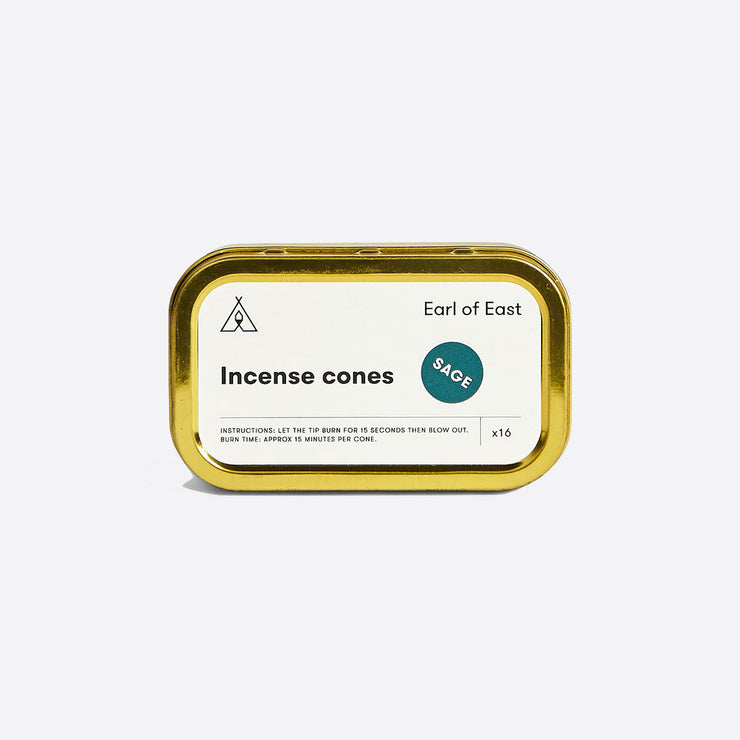 Earl of East Incense Cones Sage