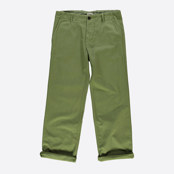 Eat Dust Combat Pants in Cotton Twill Olive