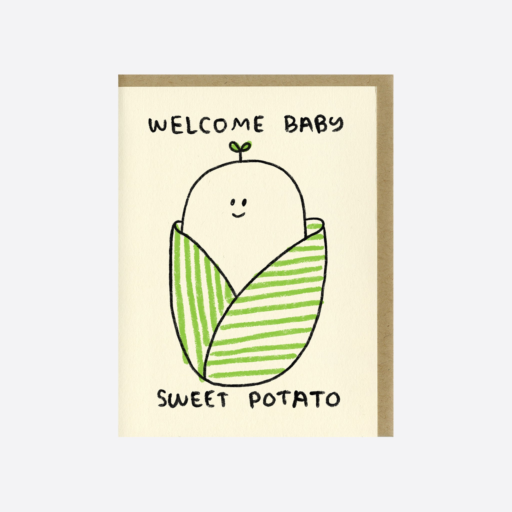 People I've Loved 'Sweet Potato Baby' Card