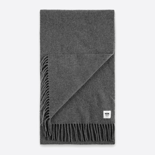 Wood Wood Karlo Scarf in Grey Melange