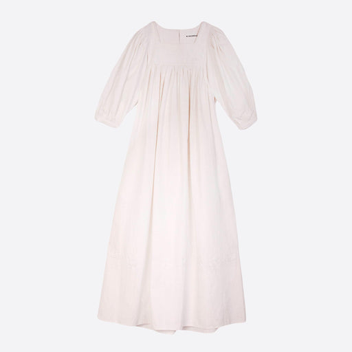 Meadows Crocus Dress in Off White