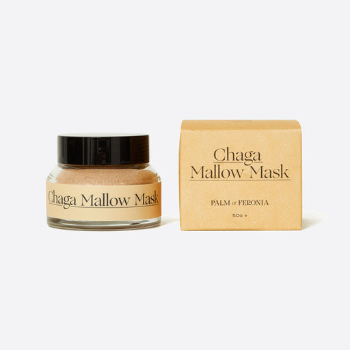 Palm of Feronia Chaga Mallow Mask