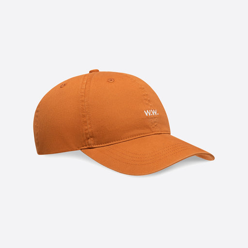 Wood Wood Low Profile Cap in Orange