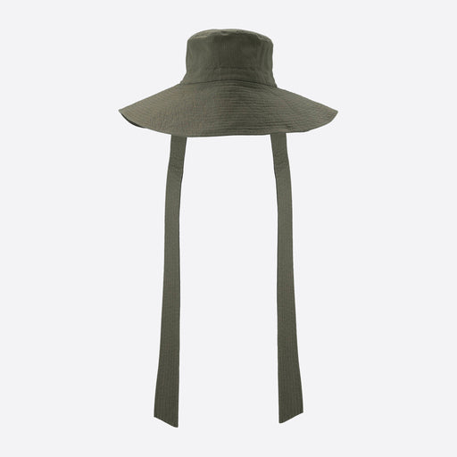 Ganni Ripstop Cotton Chino Hat in Kalamata
