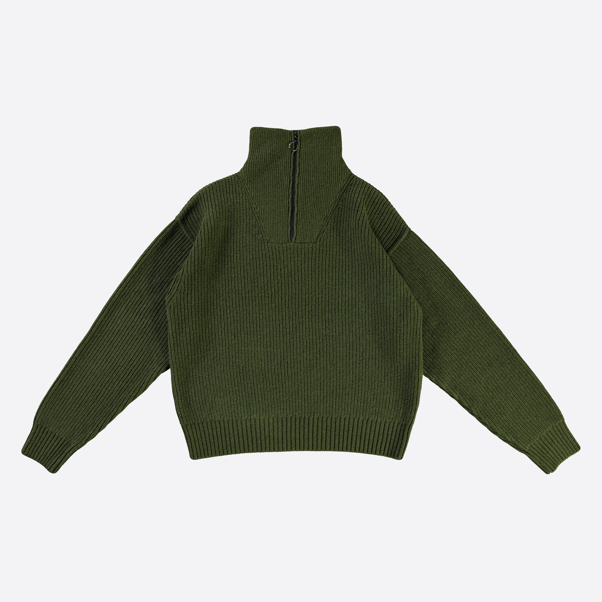 Girls of Girls Fly Deck Sweater in Racing Green