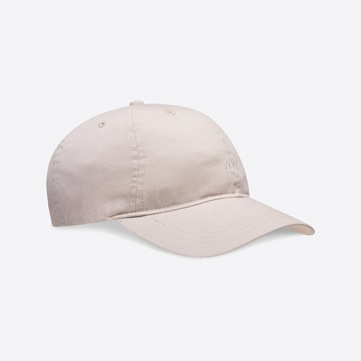 Wood Wood Low Profile Cap in Ecru