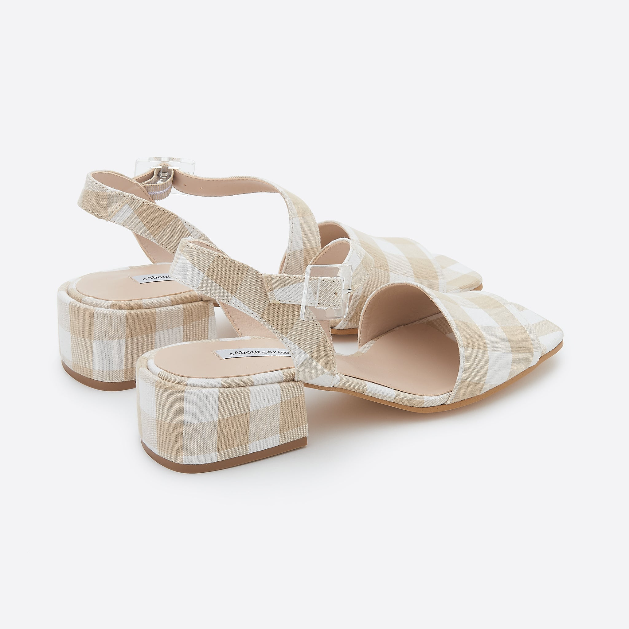 About Arianne Selva Clear Sandals in Provence