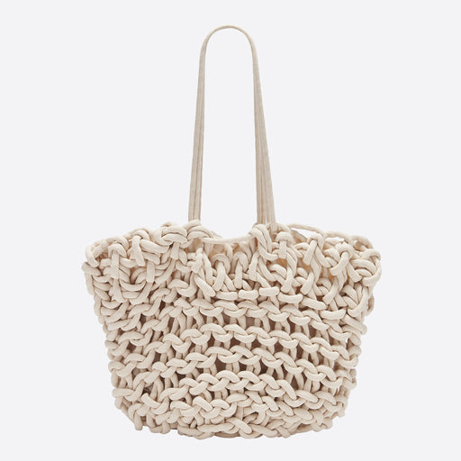 Alienina Bea Tote Bag in Off White