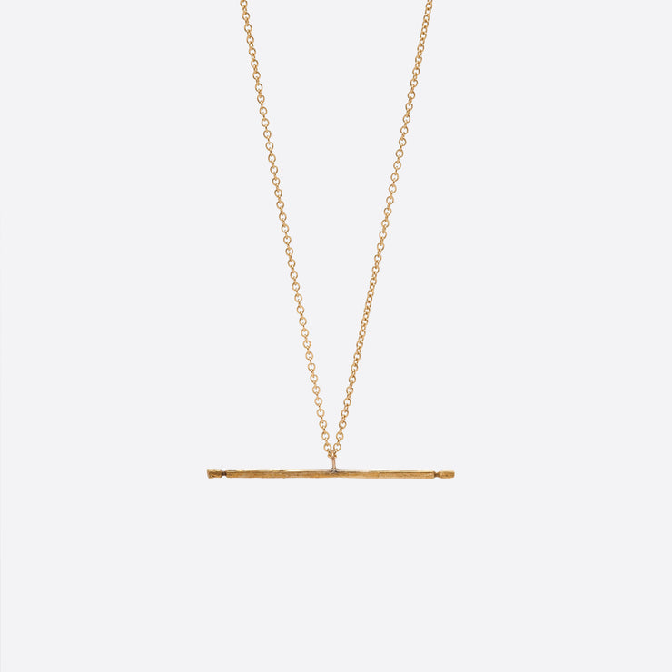 Nagle and Sisters Allumette Necklace in Gold