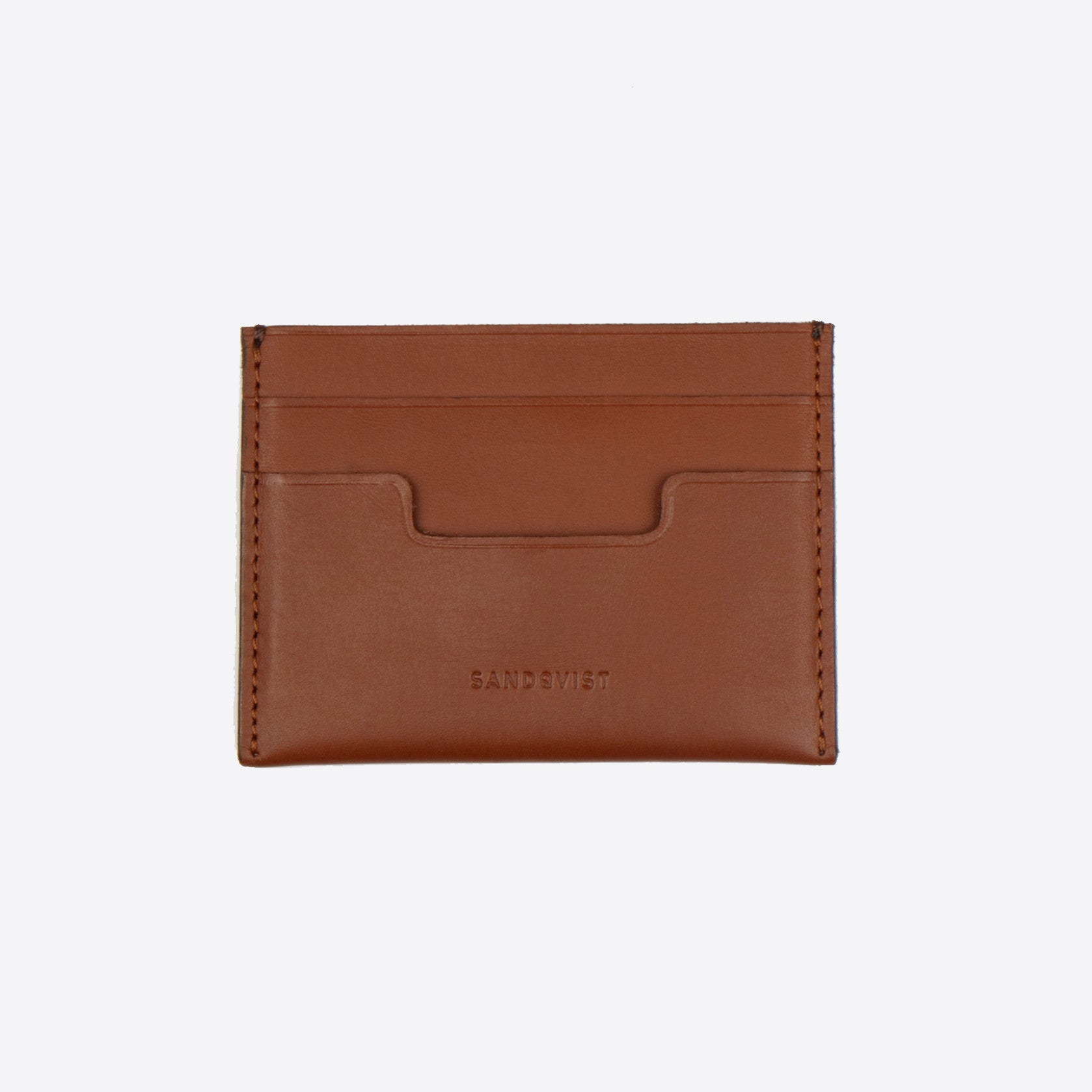 Sandqvist Buck Wallet in Cognac Brown