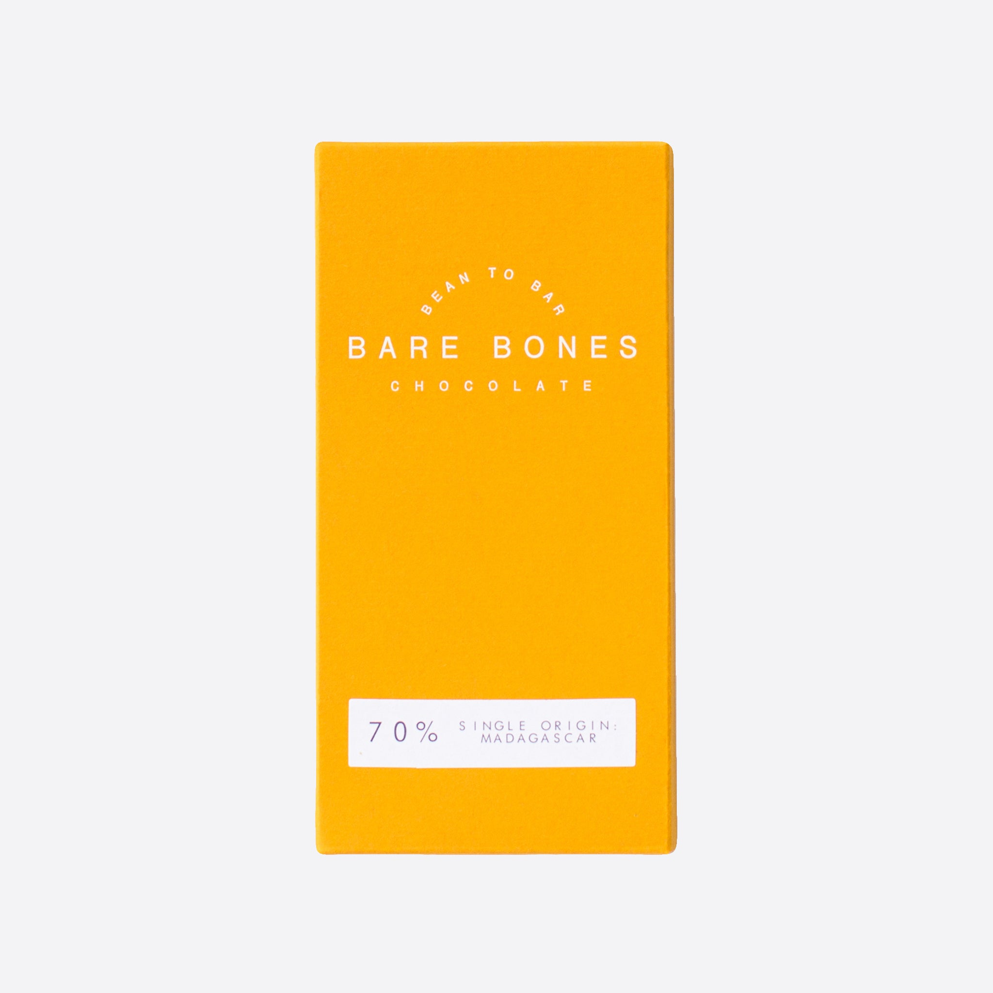 Bare Bones Chocolate Madagascar 70% Dark Chocolate
