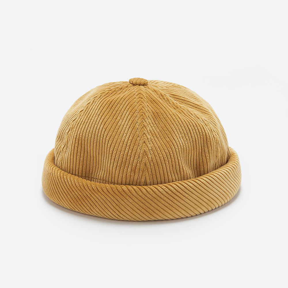 Beton Cire Miki Velvet Hat in Fawn Corduroy — Our Daily Edit bfd084333bce