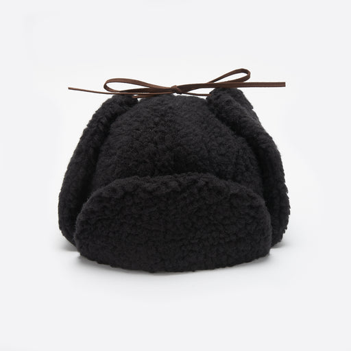 Câbleami Boa Aviator Hat in Black