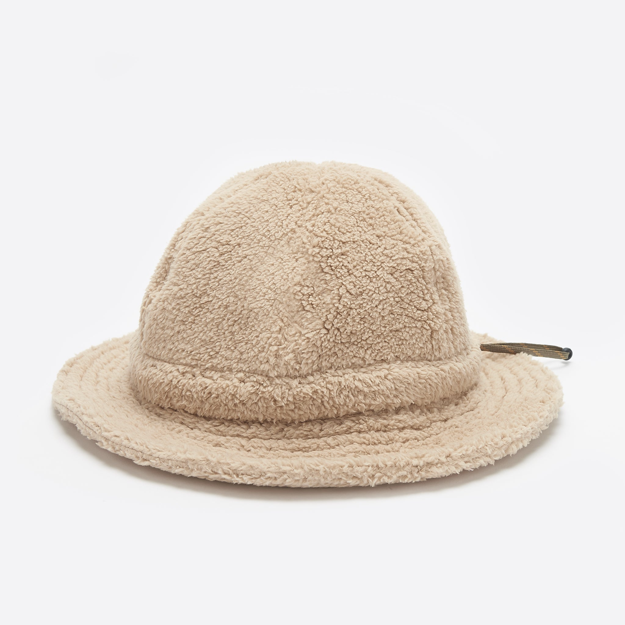 Câbleami Boa Fleece Metro Hat in Beige