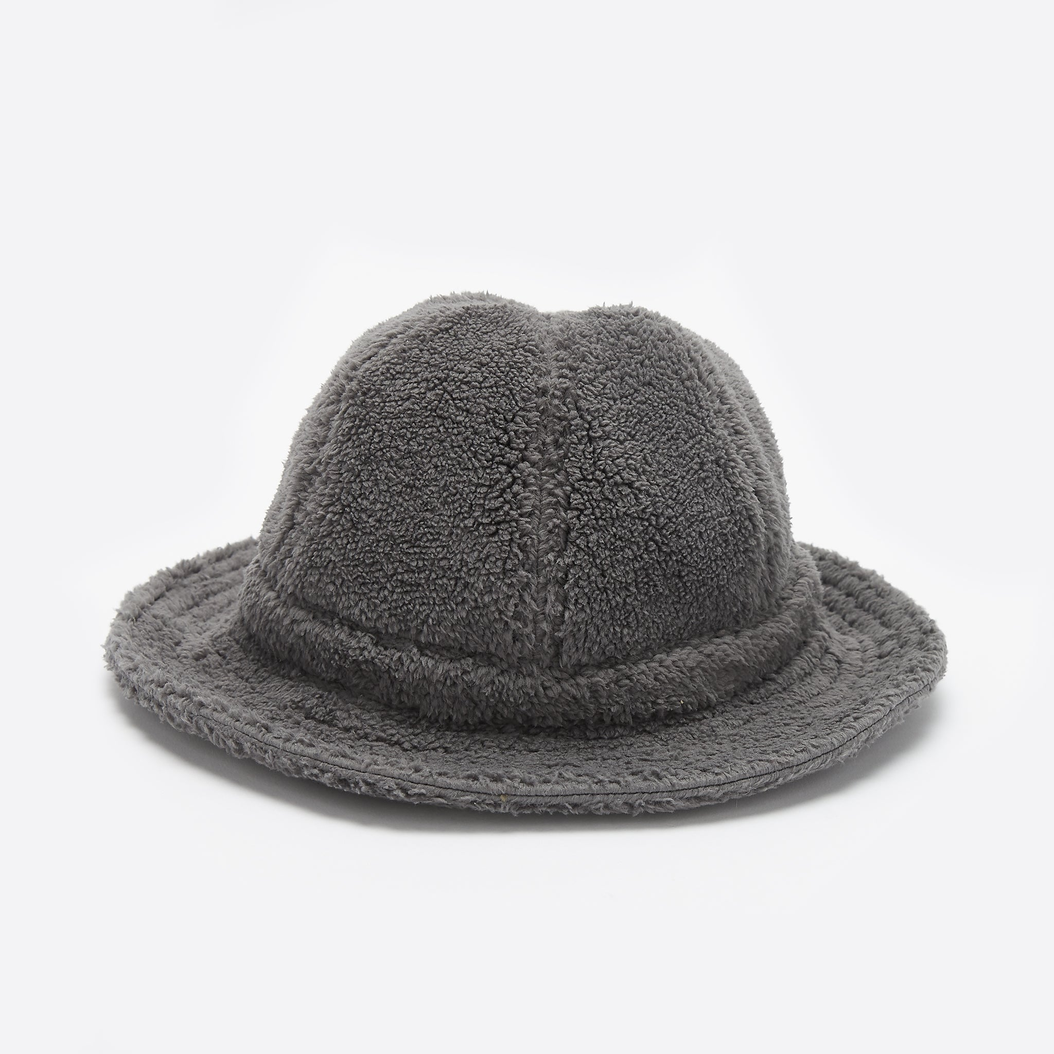 Câbleami Boa Fleece Metro Hat in Grey