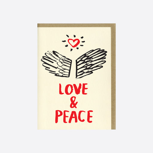 People I've Loved 'Love and Peace' Card