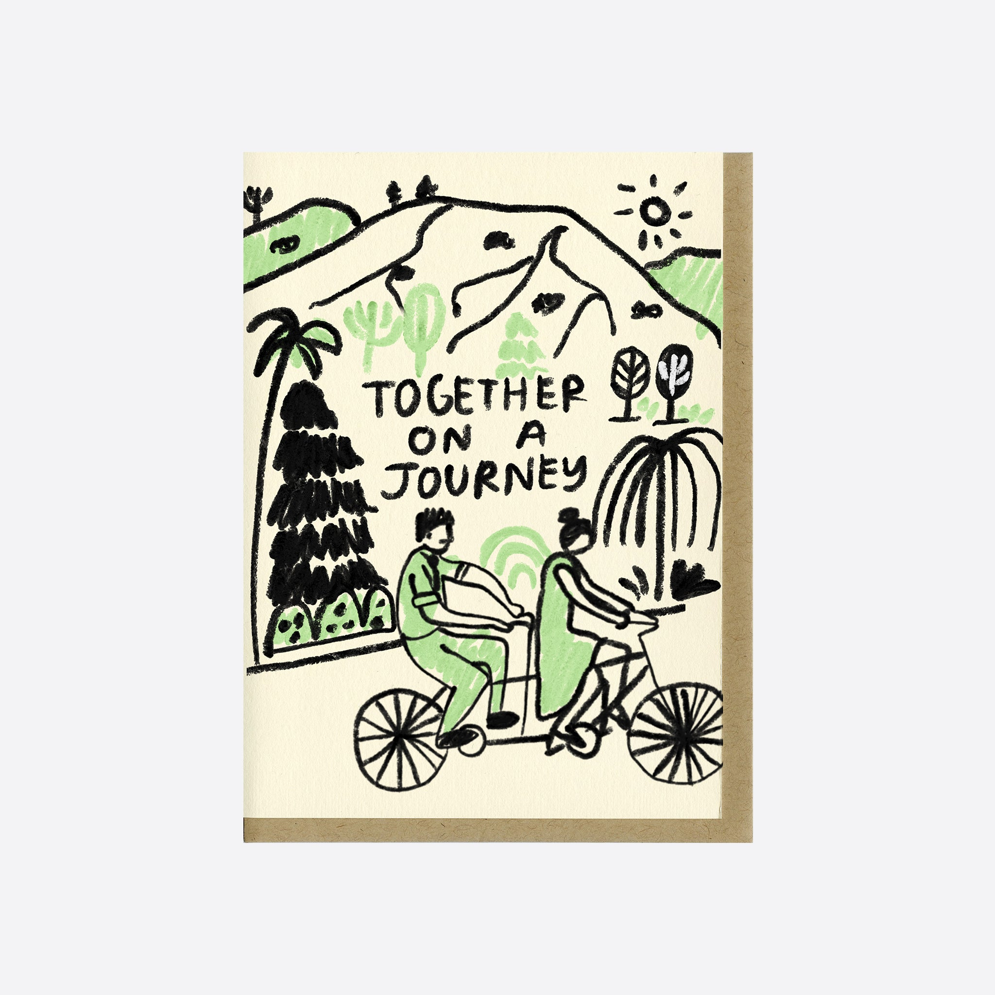 People I've Loved Journey Together Card