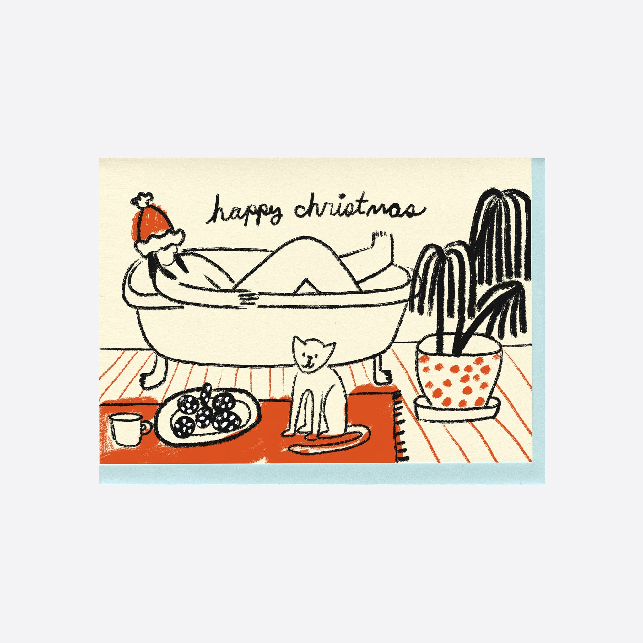 People I've Loved Christmas Bath Card