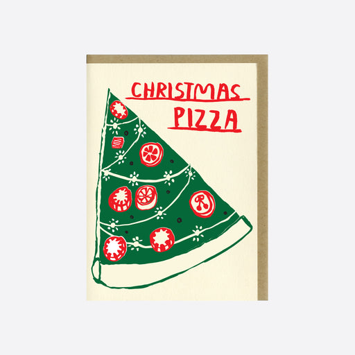 People I've Loved 'Christmas Pizza' Card