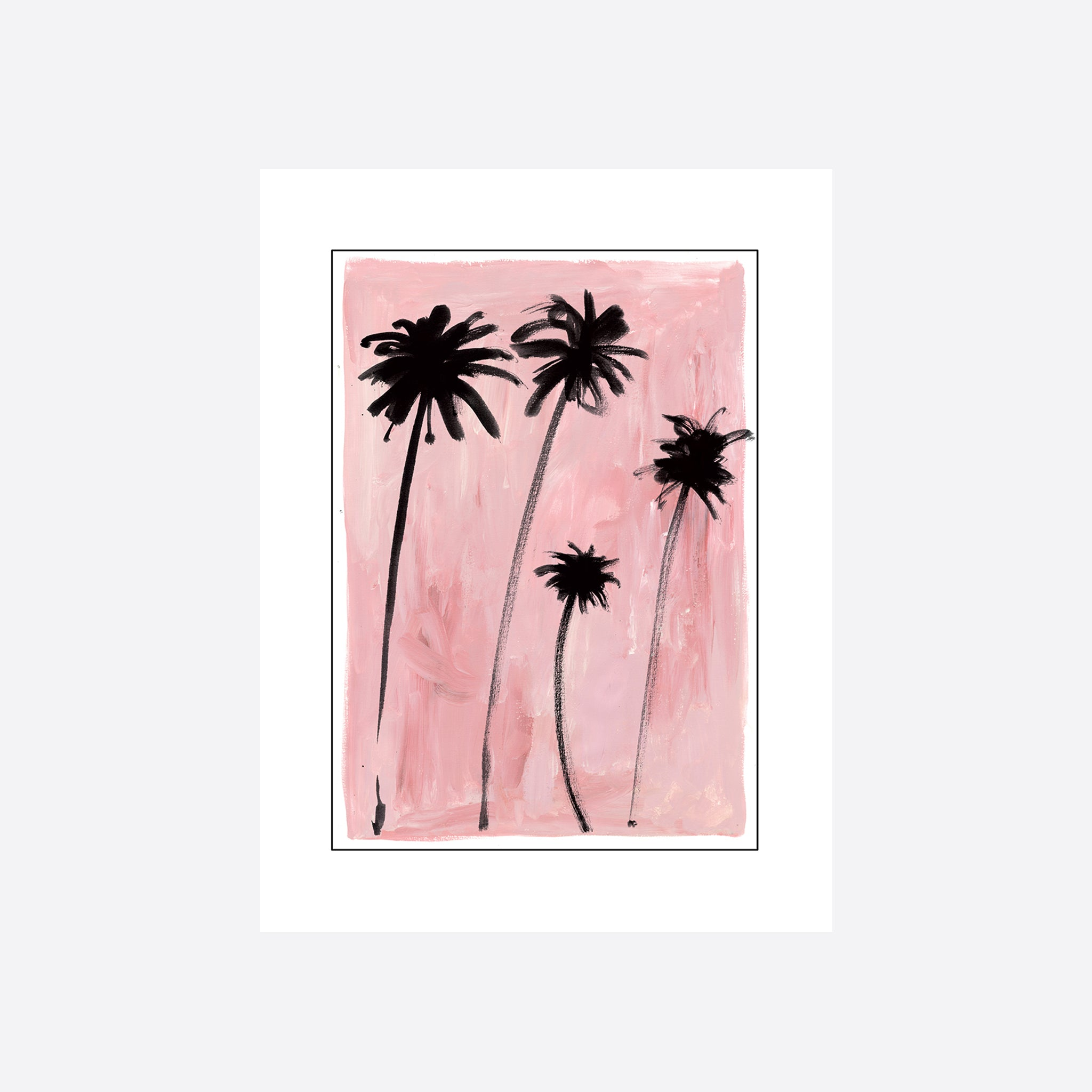 Hôtel Magique Palm Trees Greeting Card