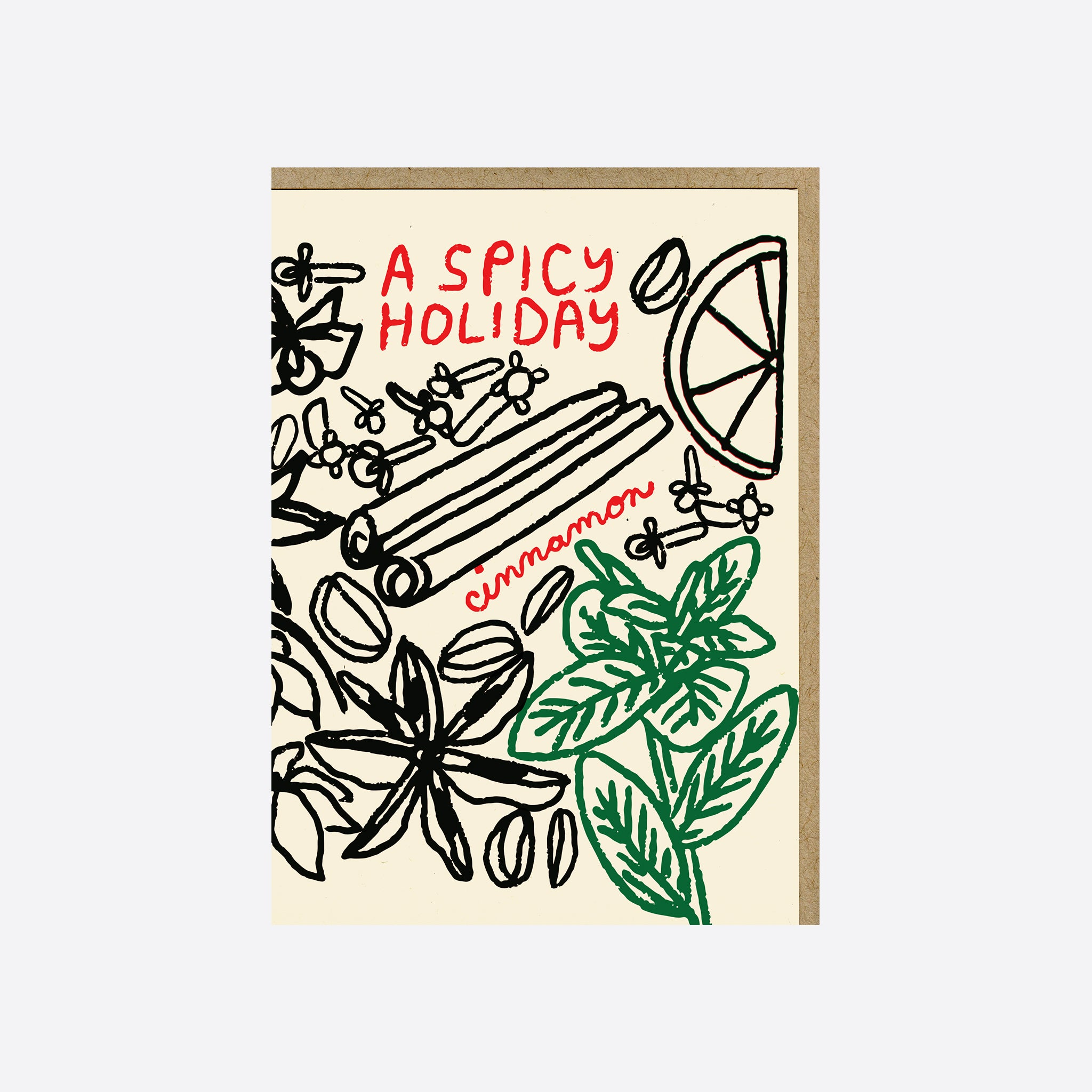 People I've Loved 'A Spicy Holiday' Card