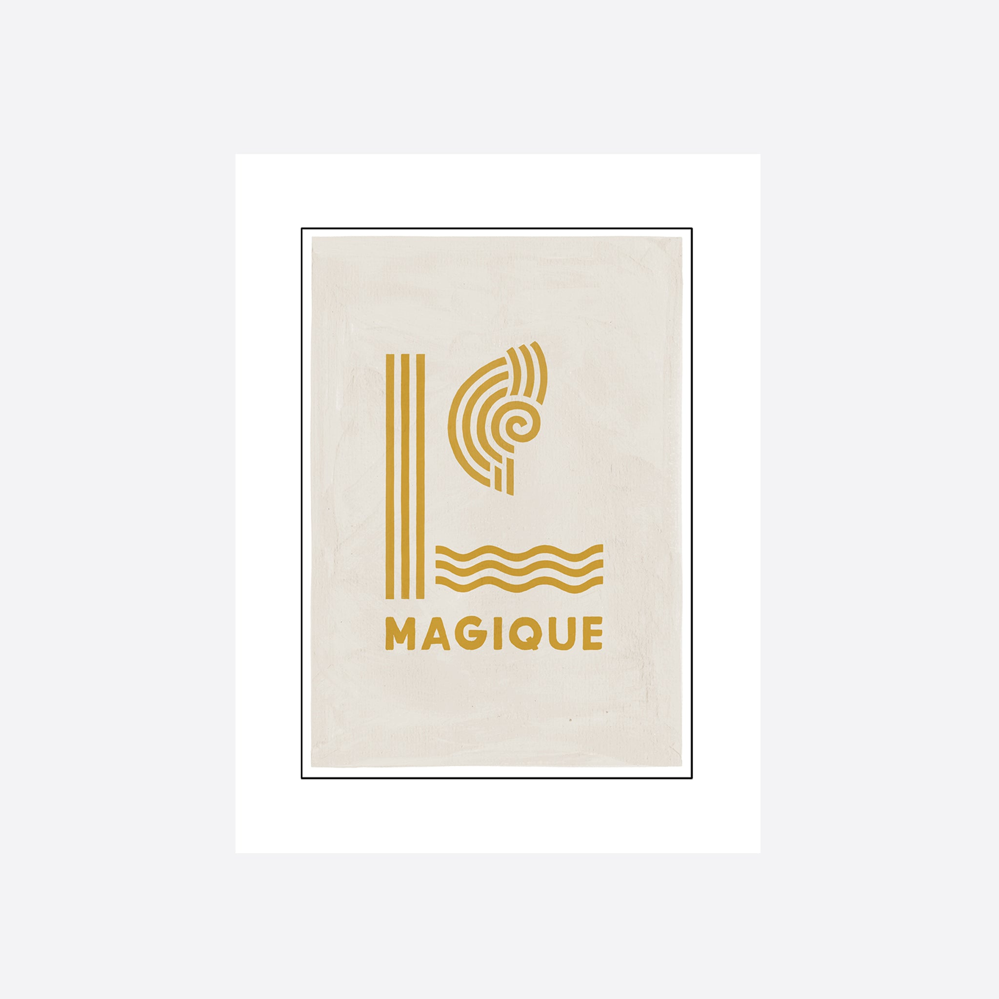 Hôtel Magique 'Yellow Magique' Greeting Card