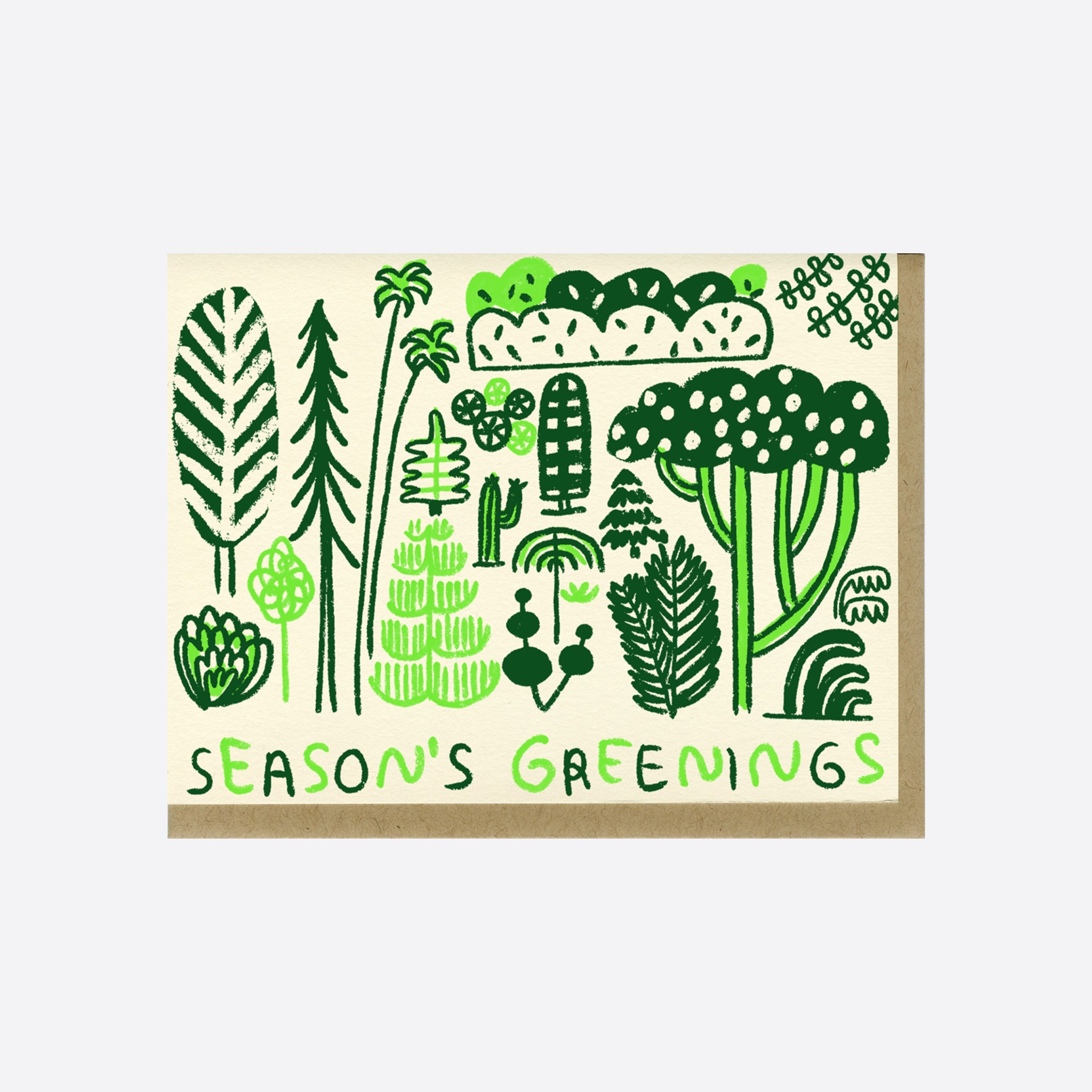 People I've Loved 'Season's Greenings' Card