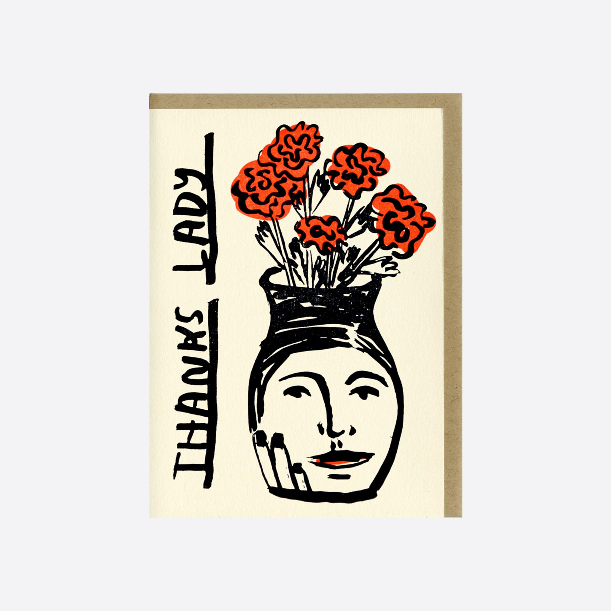 People I've Loved 'Thanks Lady' Card