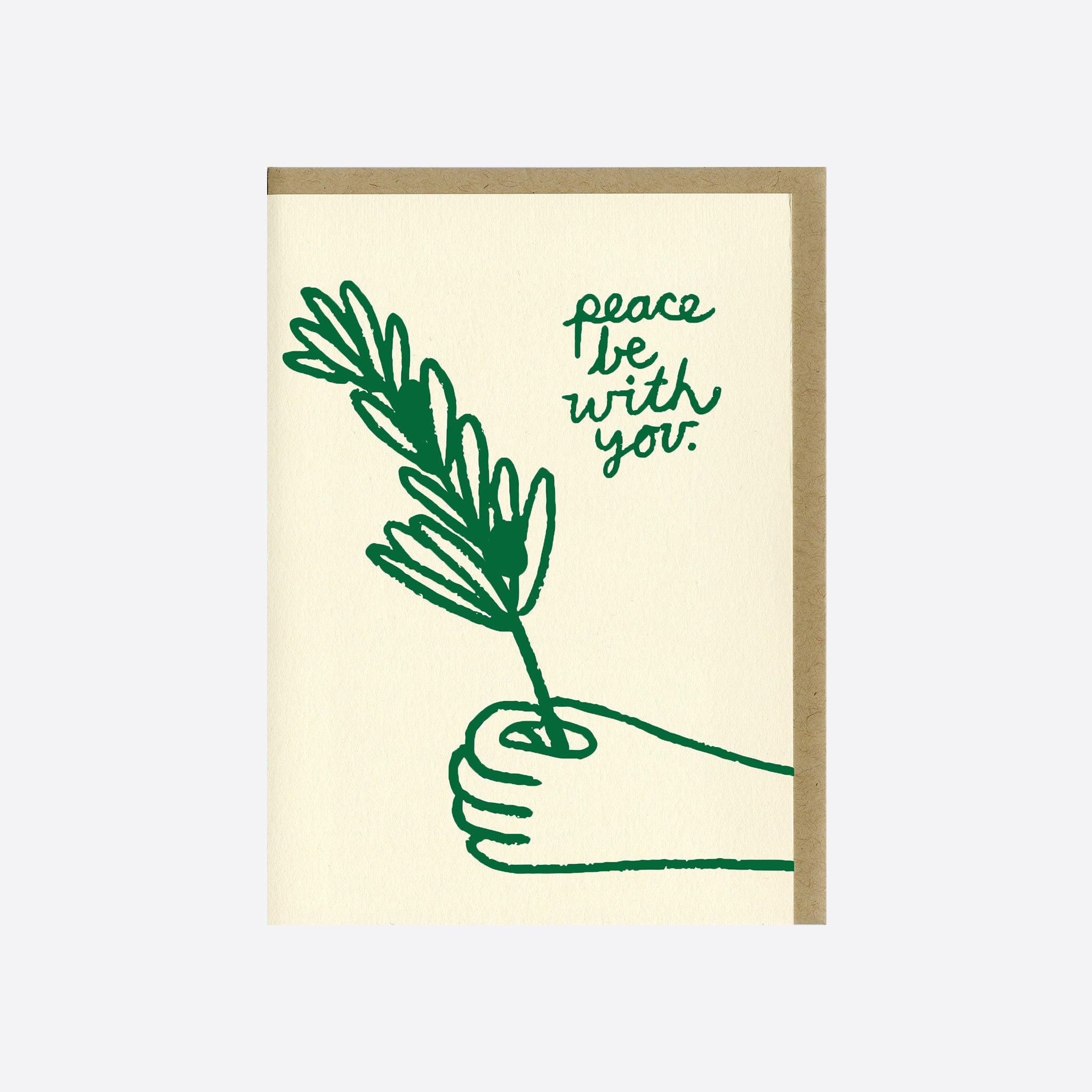 People I've Loved Peace Be With You Card